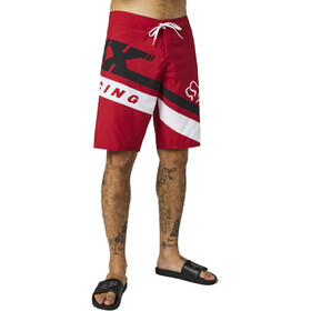 "Fox Wrapped 21"" Boardshorts Men, chili"